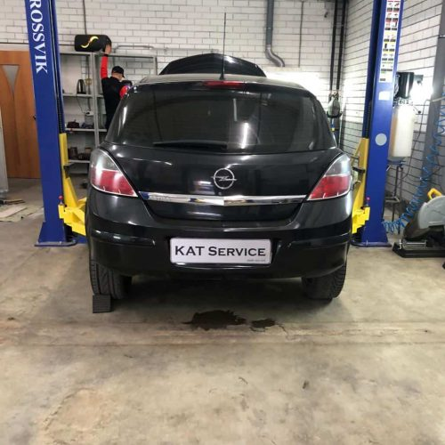 Замена катализатора Opel Astra